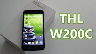 Review THL W200C en español
