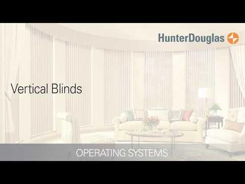 Vertical Blinds - Operating Systems - Hunter Douglas