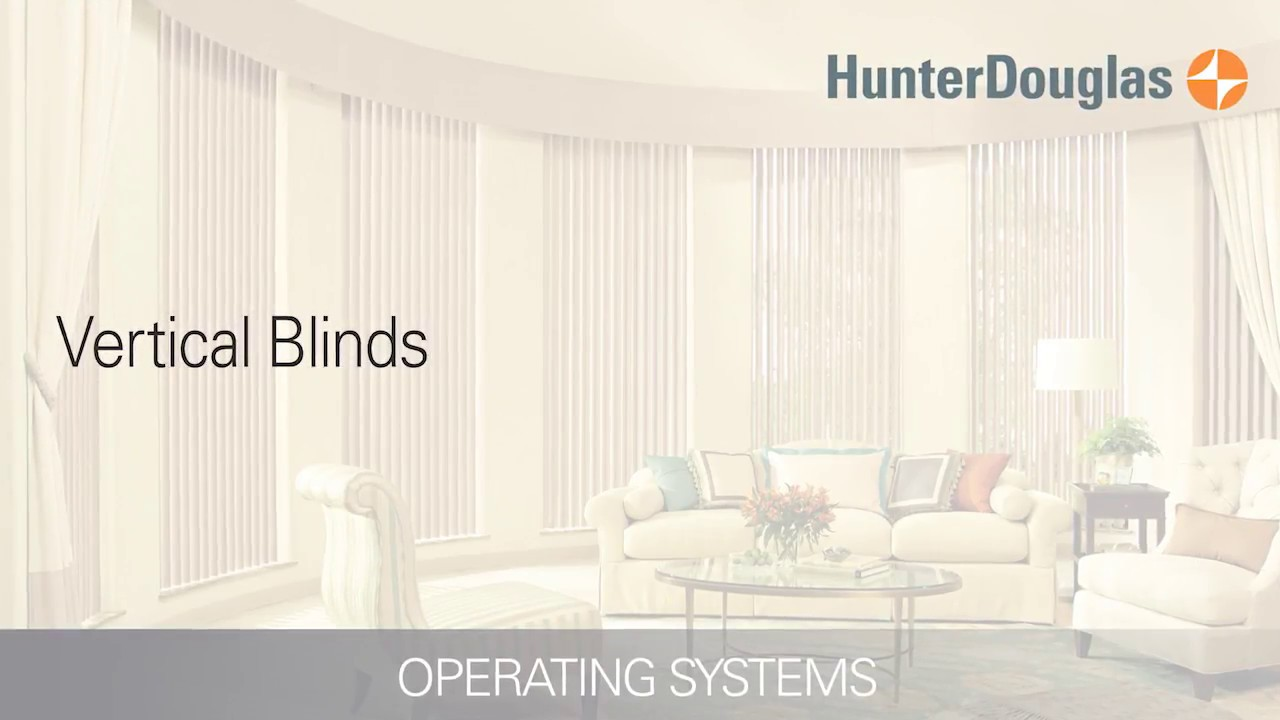 Vertical Blinds Operating Systems Hunter Douglas