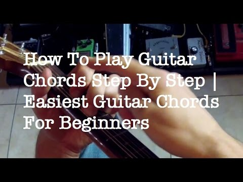 The Most Important Guitar Chords To Play Songs | Chords That Sound ...
