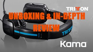 Tritton Kama Unboxing/In-Depth Review/Mic Test [Budget Headset] HD