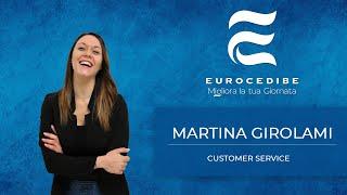 Martina Girolami - Customer Service - racconta l'importanza del rapporto umano nell'azienda