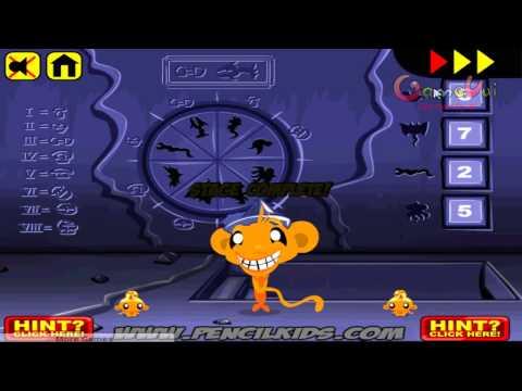 Hướng dẫn chơi game Chú khỉ buồn tìm kho báu -  MONKEY GO HAPPY TREASURE trên Game Vui