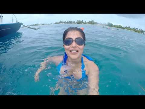 Snorkeling and Bikini Yoga in Maldives  Travel with Shenaz