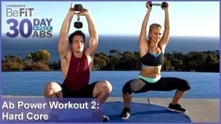 Ab Power Workout 2: Hard Core Training | 30 DAY 6 PACK ABS