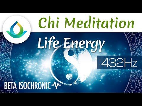Life Energy | Chi Meditation Music ◑ Isochronic Tones ❁ 432 Hz