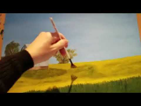 Painting Grass In Oils - Part 2