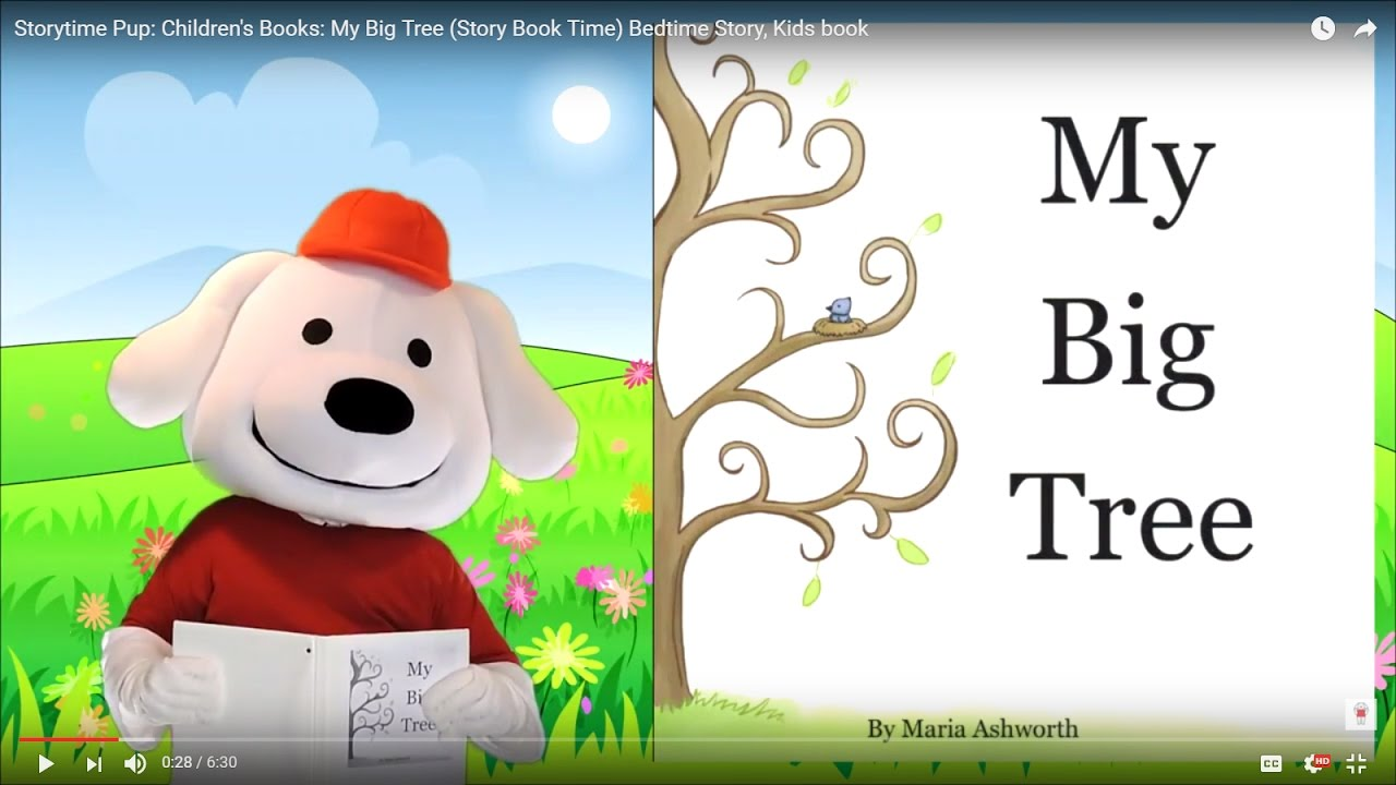 Storytime Pup Children S Books My Big Tree Story Book Time