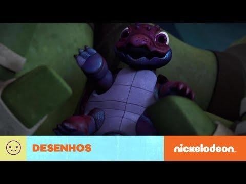 Tartarugas Ninja | Chompy | Brasil | Nickelodeon em Português
