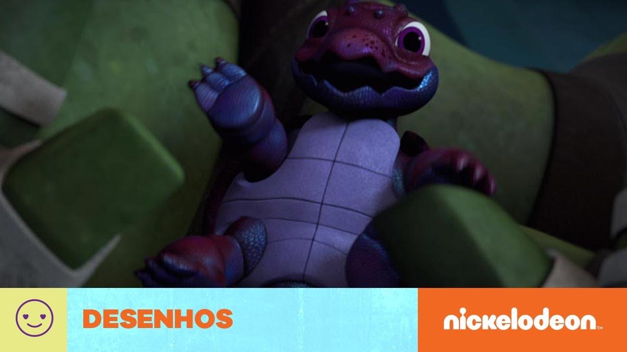 Tartarugas Ninja Chompy Tmnt Nickelodeon Em Portugues Youtube