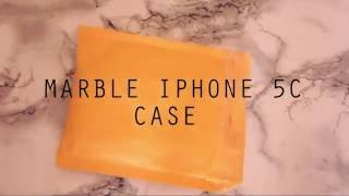 ALIEXPRESS / UNBOXING / MARBLE IPHONE 5C CASE