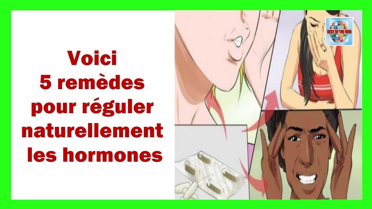 réguler les hormones naturellement