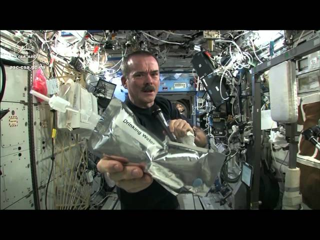 Wringing out Water on the ISS – for Science!
