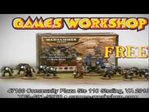 Games Workshop TV Commercial (Better Version)