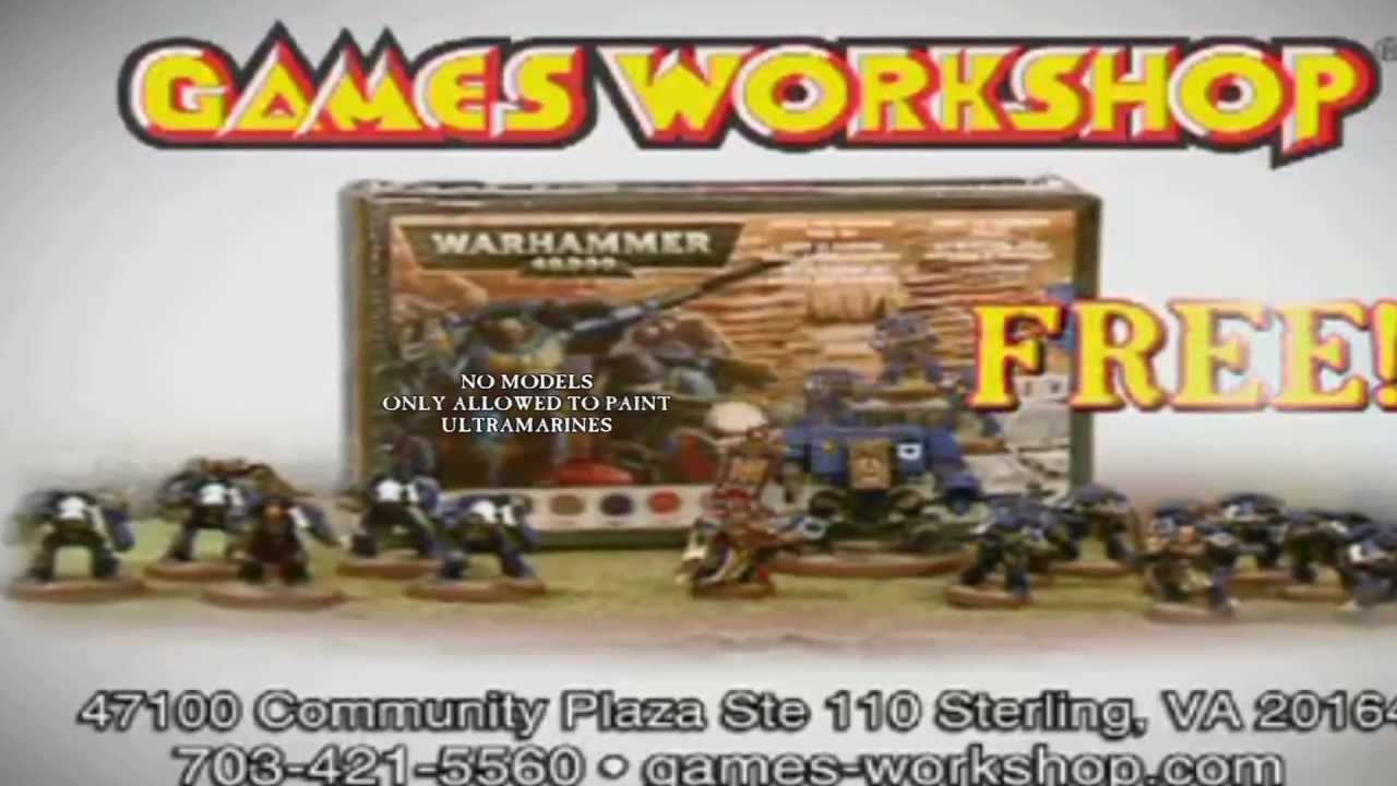 Games Workshop Tv Commercial Better Version Youtube
