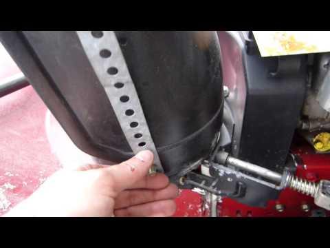 Snow Blower Chute Repair Highlights