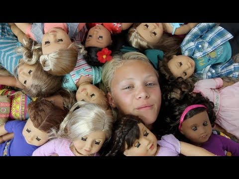 Huge American Girl Doll Haul  My Collection