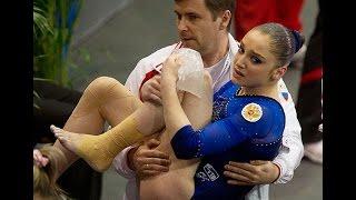 Gymnastics Huge Fail Compilation! Гимнастика  падения и неудачи!