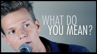 Justin Bieber - What Do You Mean? (Music Video Cover)