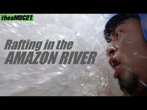 My Trip to Ecuador: River Rafting in the Amazon Napo River