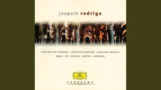 Rodrigo: concierto madrigal for 2 guitars and orchestra - fandango mp3