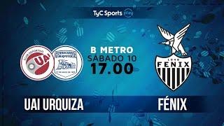 CD UAI Urquiza vs CA Fenix full match