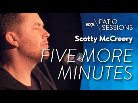 Scotty McCreery - Five More Minutes (Live) - AXS Patio Sessions