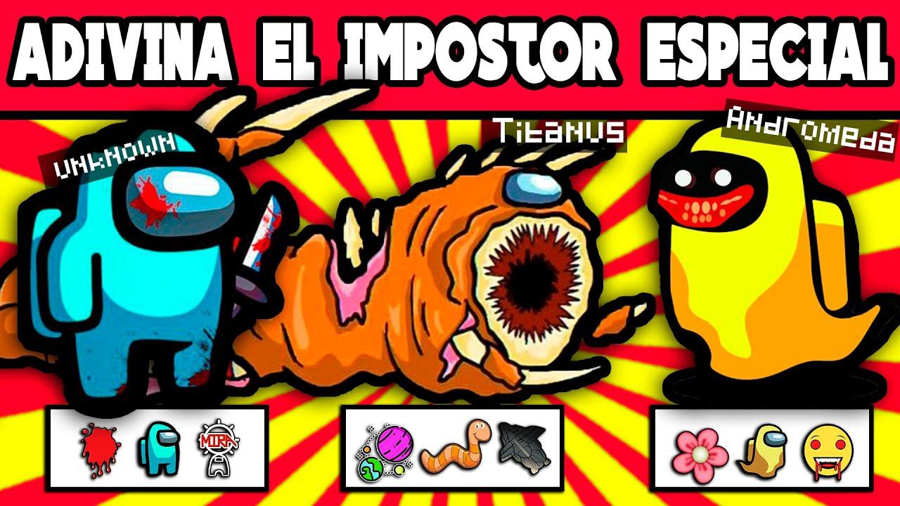 Adivina El IMPOSTOR Especial De AMONG US 2 | JEGA TOONS