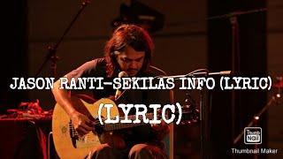 Jason ranti-sekilas info (lyric) -
