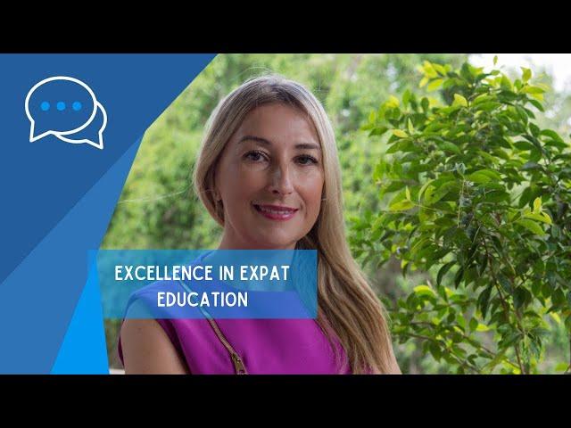 Senida Kiehl, Founder Excellence in Expat Education