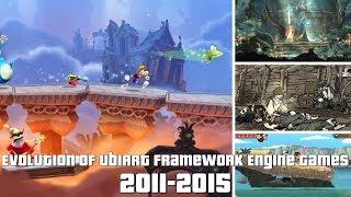 Evolution of UbiArt Framework Engine Games 2011-2015