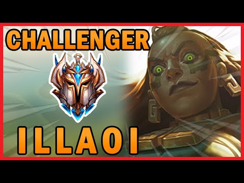 Climb To Top 50 Player In NA Challenger   Illaoi Gameplay :)