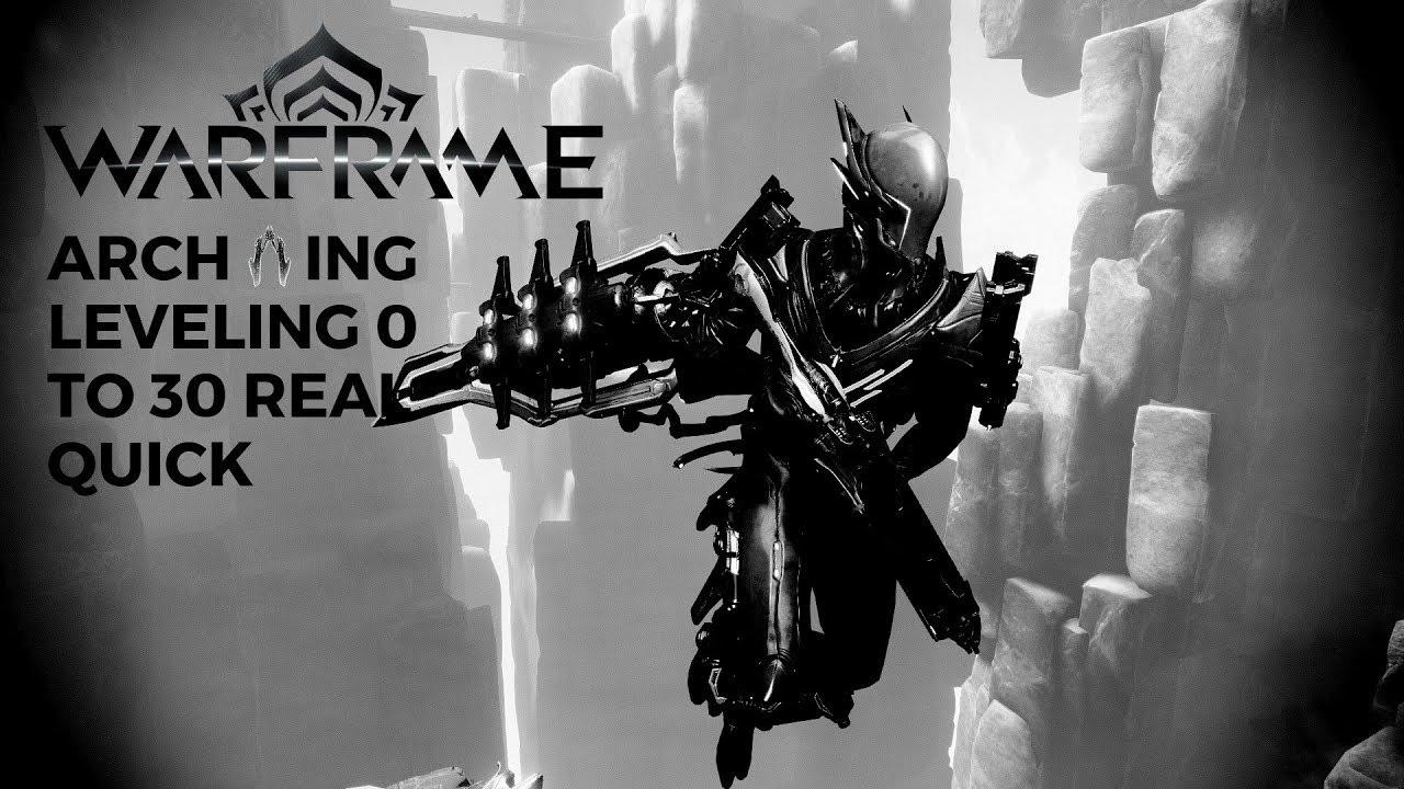 Warframe Best Way To Level Archwing 2019 Warframe Archwing leveling   YouTube