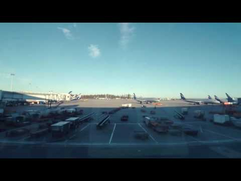 Sheremetyevo International Airport – Time Lapse