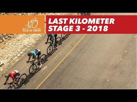 Last kilometer - Stage 3 - Tour of Oman 2018