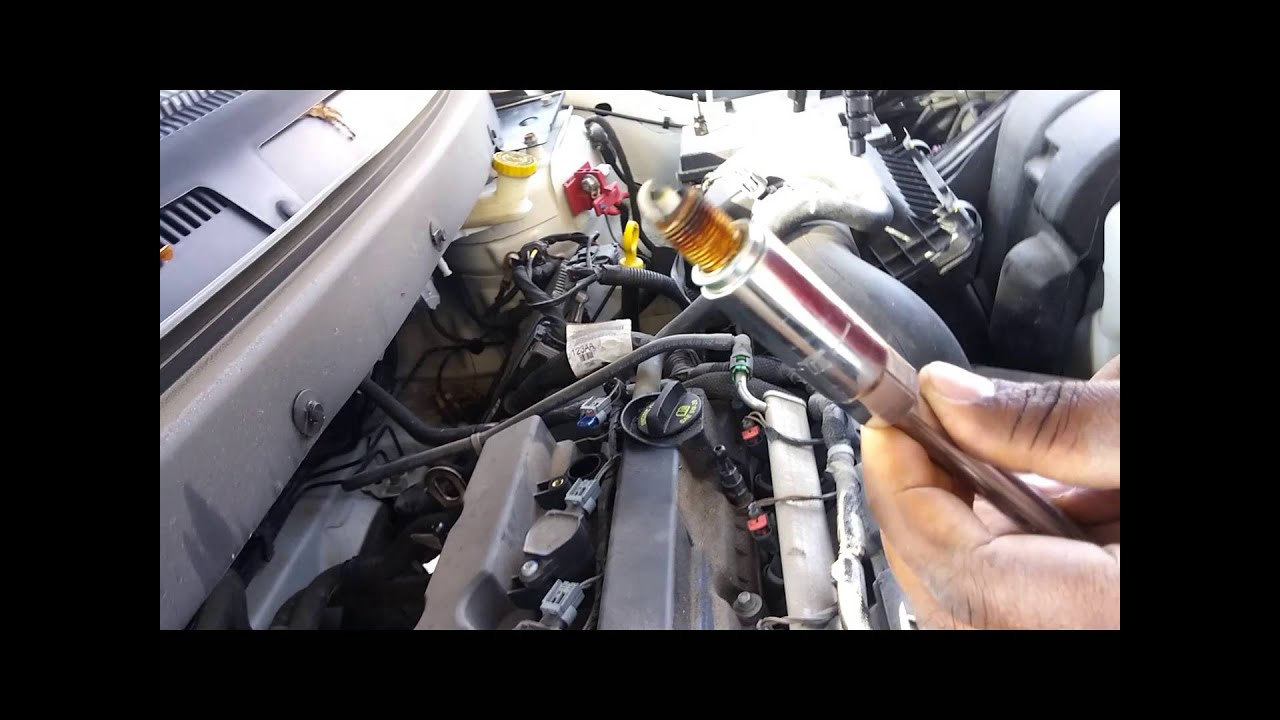 how to change spark plugs on a dodge journey 2010 youtube. Black Bedroom Furniture Sets. Home Design Ideas