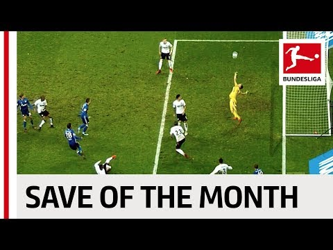 Save of the Month - December - 2017/18 Season