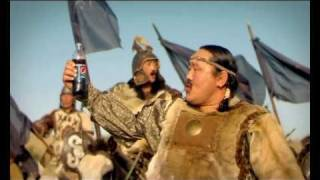 pepsi new tvc with asashoryu dagvadorj шинэ реклам 2010 pepsi mongolia