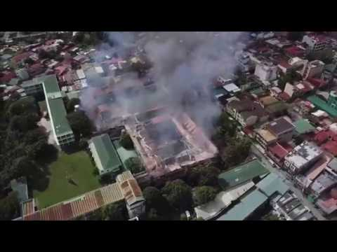 Fire hits oldest Catholic school in Lucena