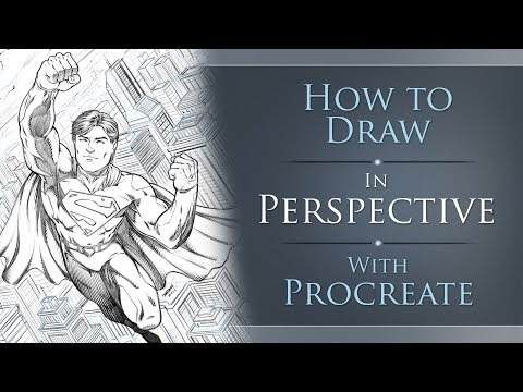 How to Draw in Perspective with Procreate - Tutorial