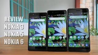 Nokia 3, 5, 6 Oreo Resmi Review Indonesia