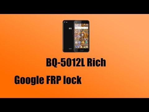Обход Google Аккаунта на BQ-5012L  Frp Bypass