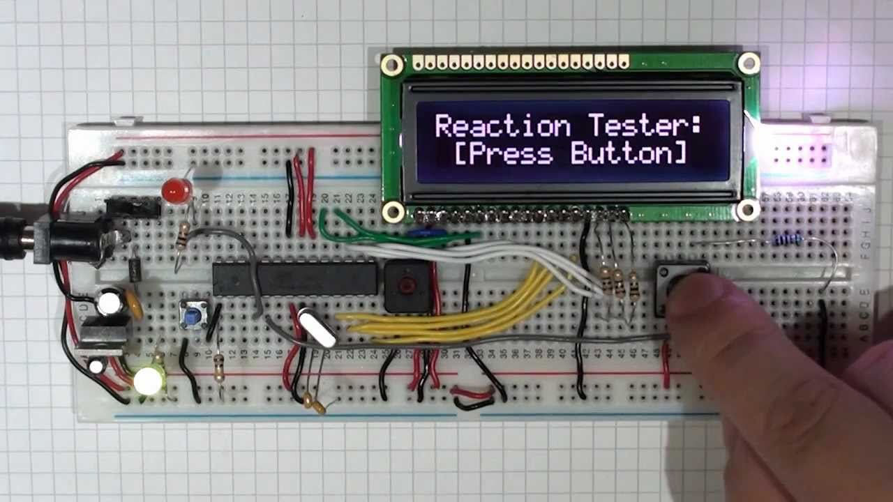 Arduino Lcd Tutorial Ii A Reaction Timer Youtube The 555 Monostable Circuit Electronics In Meccano