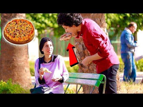 مقلب الاكل من اكل الناس فى مطاعم مصر ٢ | Eating Peoples Food Prank 2