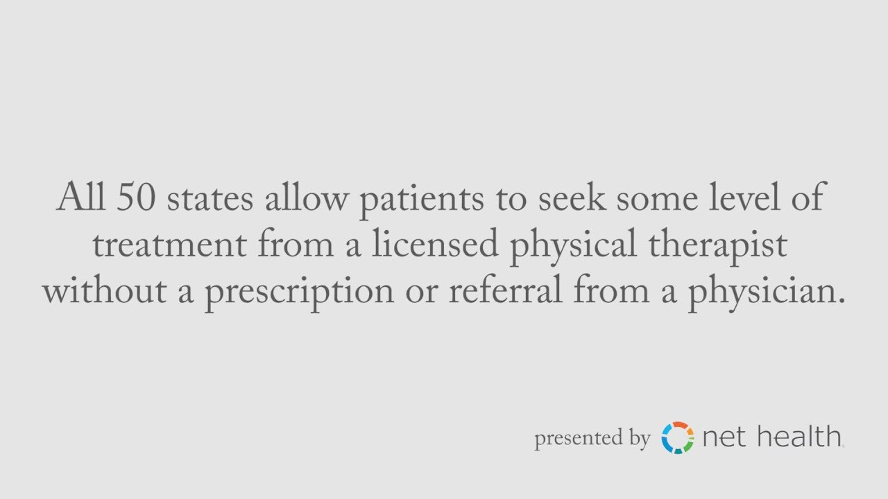 Direct access in physical therapy - How Having Direct Access To Physical Therapy Is Helping To Alleviate The Opioid Epidemic In America