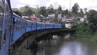 Sri Lanka - beautiful rail ride