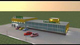 Торговый центр в Sweet Home 3D