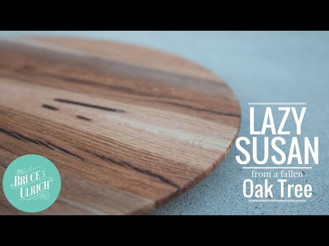 Making A Lazy Susan from Reclaimed Wood