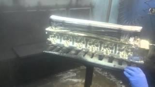 Хромирование головки двигателя(Химическая металлизация головки двигателя L20., 2015-02-03T13:06:03.000Z)