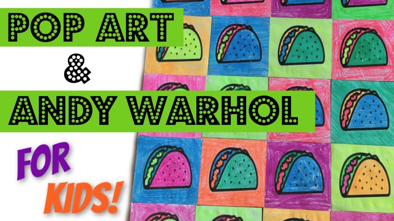 Pop Art Drawings For Kids